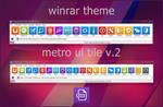 Metro UI Tile v.2 WinRAR theme