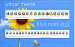 Blue memory2 WinRAR theme
