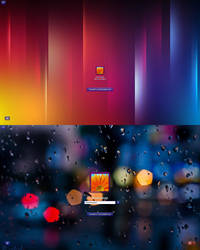 Color Transparent Logon W7