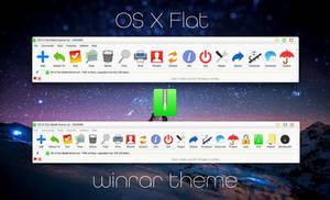 OS X Flat WinRAR theme