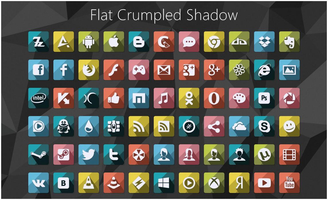 Flat CS IconPack by alexgal23