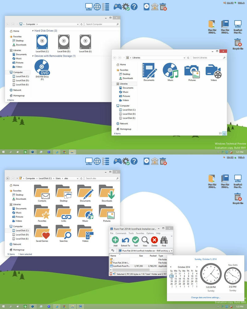 Work Redux 2 theme for Win8/8.1