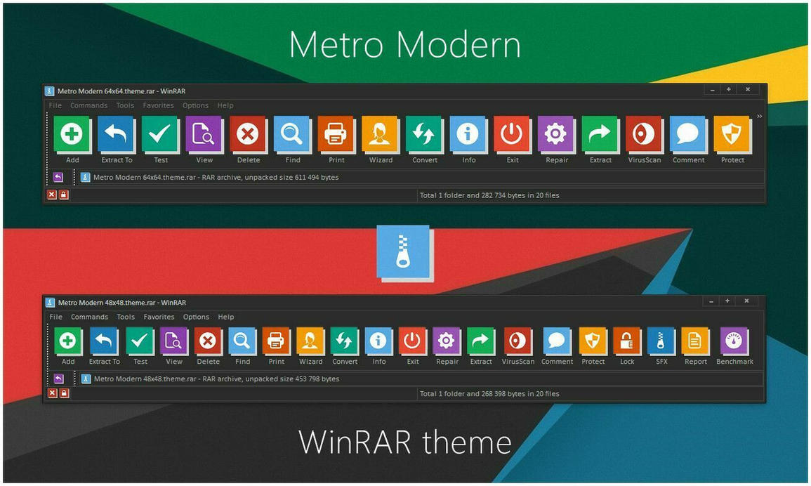 metro modern winrar theme by alexgal23 on deviantart