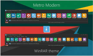 Metro Modern WinRAR theme