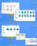 Blue memory2 IconPack Installer