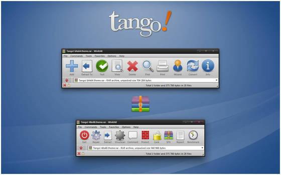 Tango! WinRAR theme