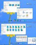 Blue memory2 W10 IconPack
