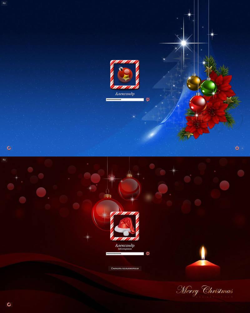 Christmas Logon W7