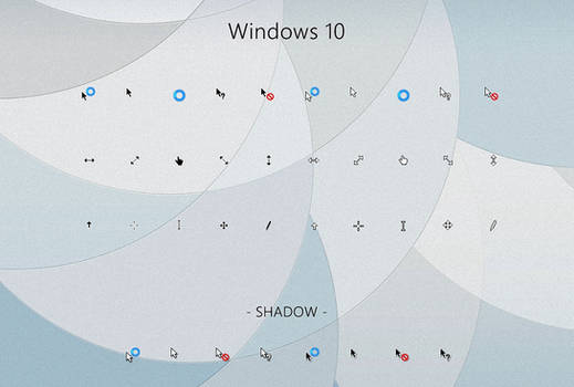 Windows 10 Cursors