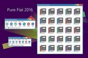 Pure Flat 2016 7-Zip theme by alexgal23