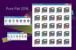 Pure Flat 2016 7-Zip theme