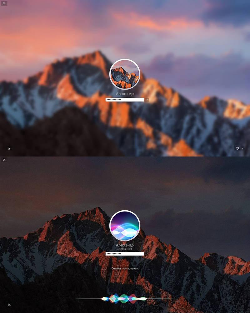 Mac OS X cursors