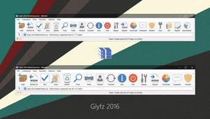 Glyfz 2016 WinRAR theme