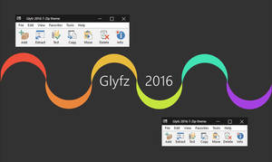 Glyfz 2016 7-Zip theme