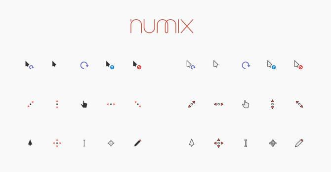Numix Cursors by alexgal23