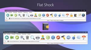 Flat Shock WinRAR theme