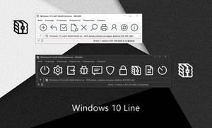 Windows 10 Line WinRAR theme