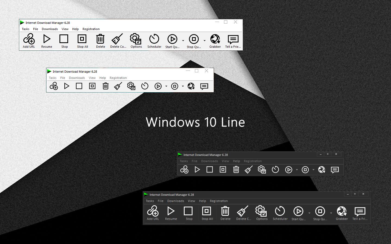 Windows 10 Line IDM