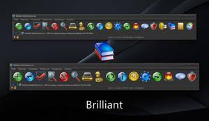 Brilliant WinRAR theme