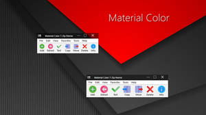 Material Color 7-Zip theme