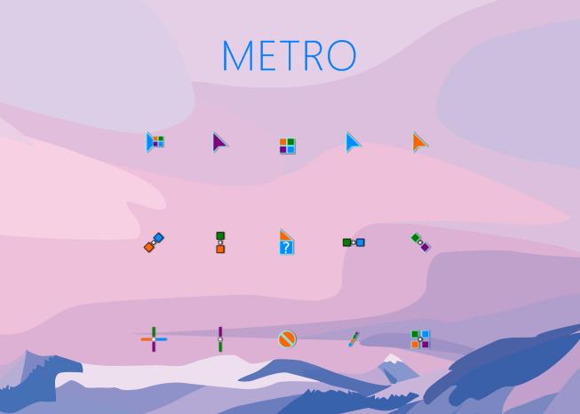 Metro Cursors