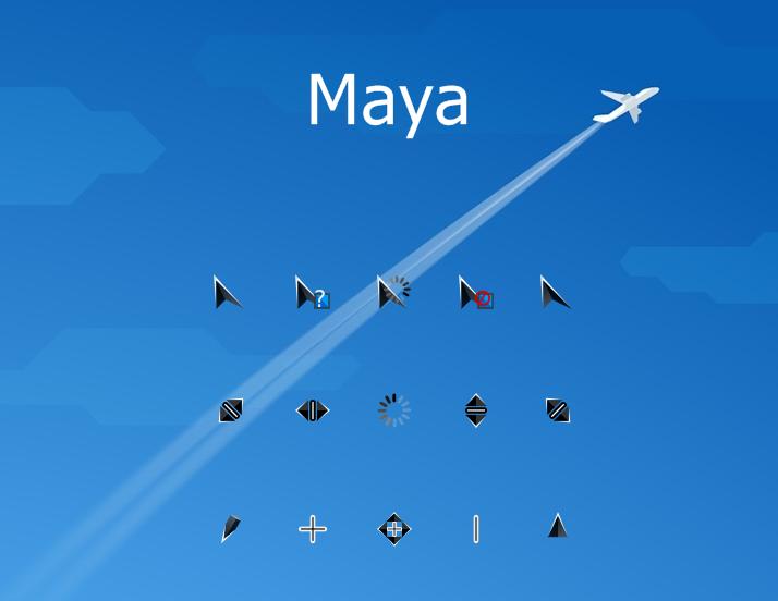 Maya Cursors
