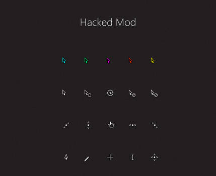 Hacked Mod Cursors