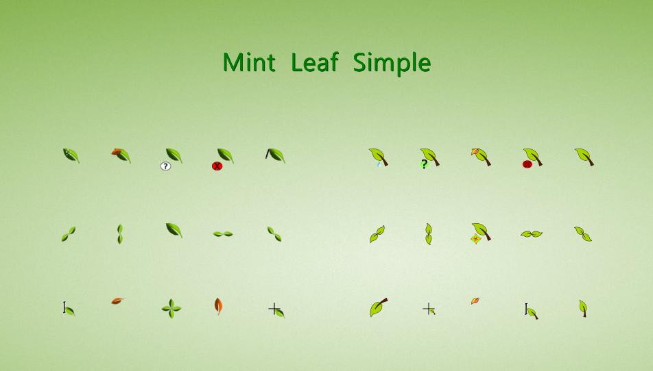 Leaf Cursors