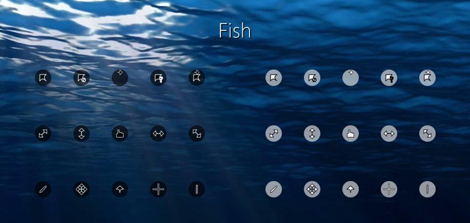 Fish Cursors