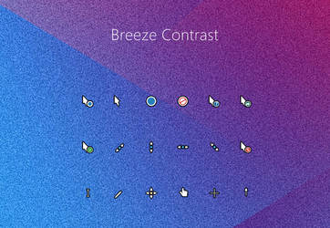 Breeze Contrast Cursors