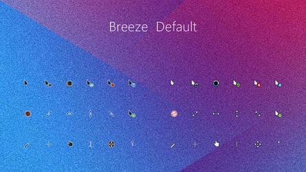 Breeze Default Cursors