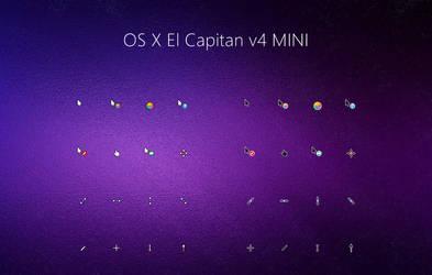 OS X El Capitan v4 MINI Cursors