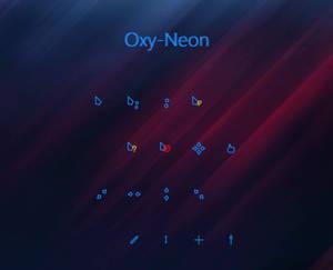 Oxy-Neon Cursors