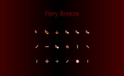 Fiery Breeze Cursors