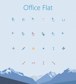 Office Flat Cursors