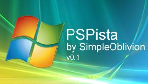 PSPista Offical PSP Theme by SimpleOblivion