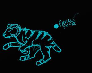 Kaine Running Sketch