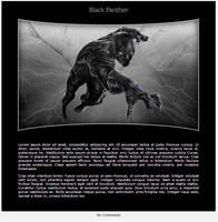 Black Panther Journal Skin II by MrOrbital