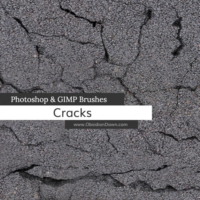 Cracks Photoshop and GIMP Brushes