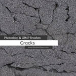 Cracks Photoshop and GIMP Brushes