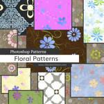 Floral Photoshop Patterns