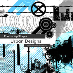 Urban Designs Photoshop Custom Shapes