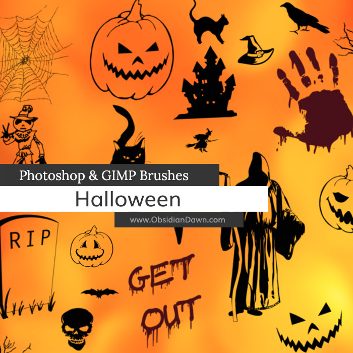 halloween vectors photoshop and gimp brushes by redheadstock on rh deviantart com halloween vector images halloween vector images