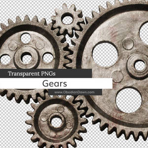 Gears Transparent PNGs