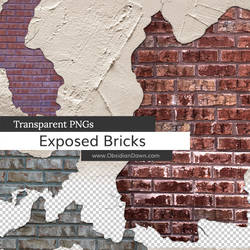 Exposed Brick PNGs