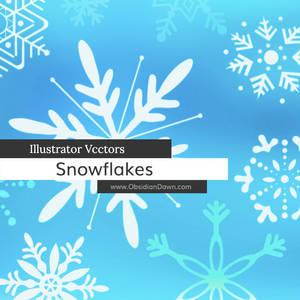 Snowflake Illustrator Vectors