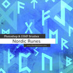 Nordic Runes Photoshop and GIMP Brushes