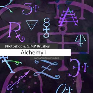 Alchemy Photoshop and GIMP Brushes