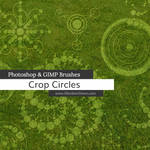 Crop Circles Photoshop and GIMP Brushes