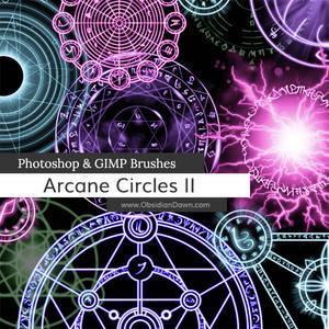 Arcane Circles II Photoshop and GIMP Brushes